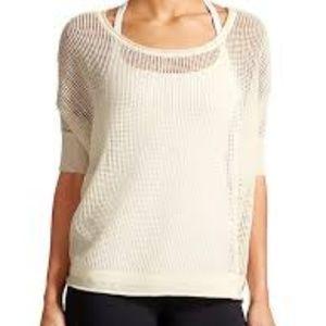 Athleta Womens Cabrillo Sweater White Size S